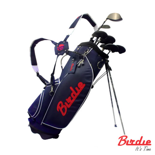 stand bag navy