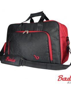 birdie bostonbag blackred