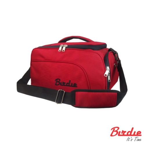 birdie minibostonbag  red