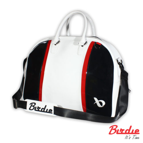 birdie bostonbag sinthetic white