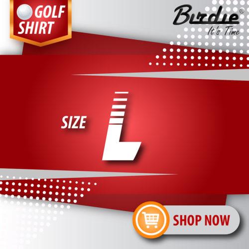 4 Golf Shirt Size L
