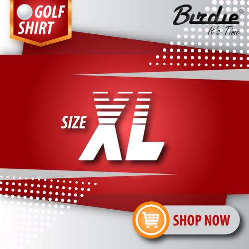 5 Golf Shirt Size XL