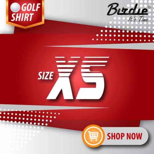 1 Golf Shirt Size XS