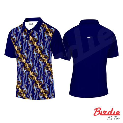 birdie batik blue