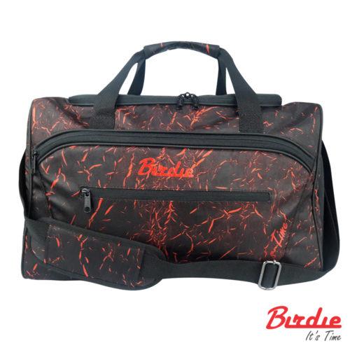 birdie bostonbag b blackred