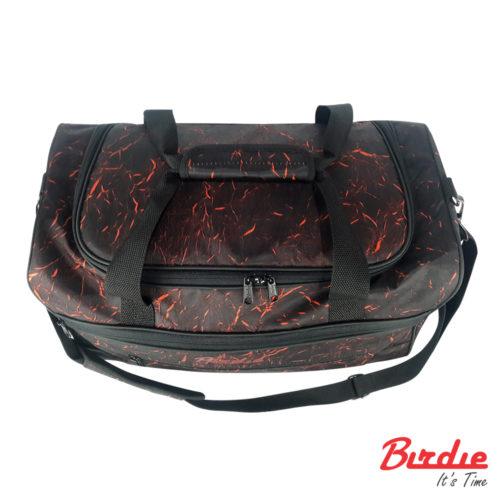 birdie bostonbag d blackred